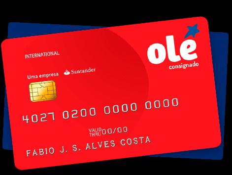 Cartão consignado OLÉ